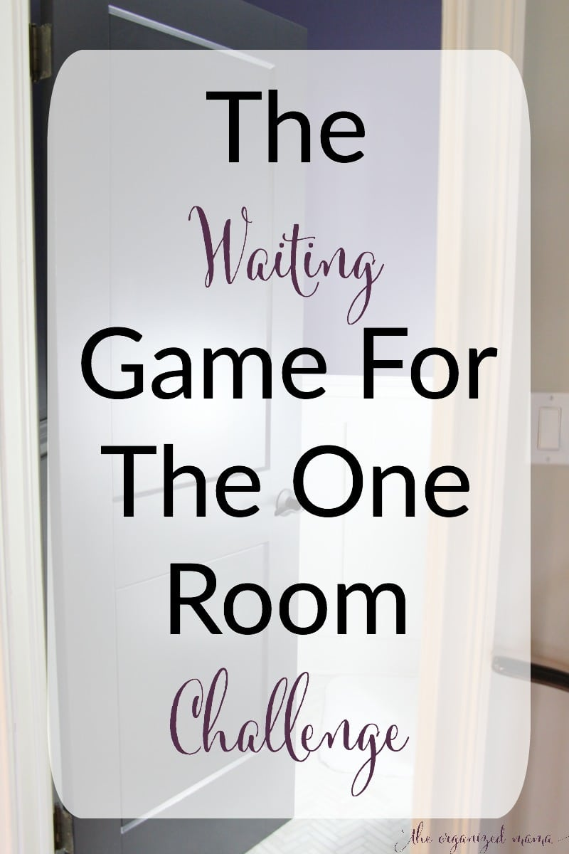 First Floor Bathroom One Room Challenge