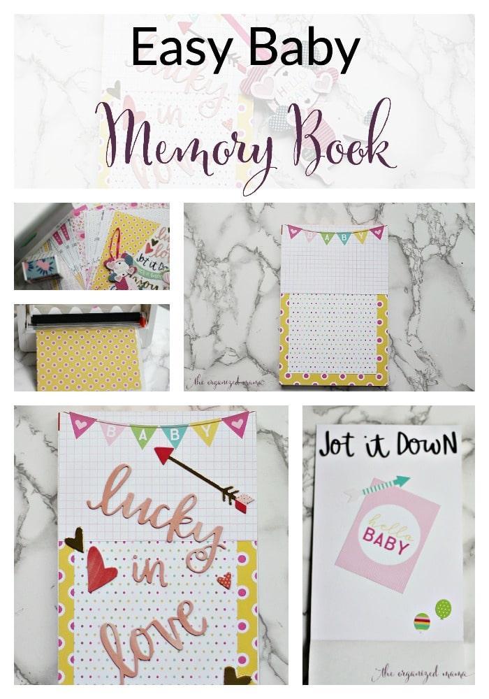 Easy Baby Memory Book