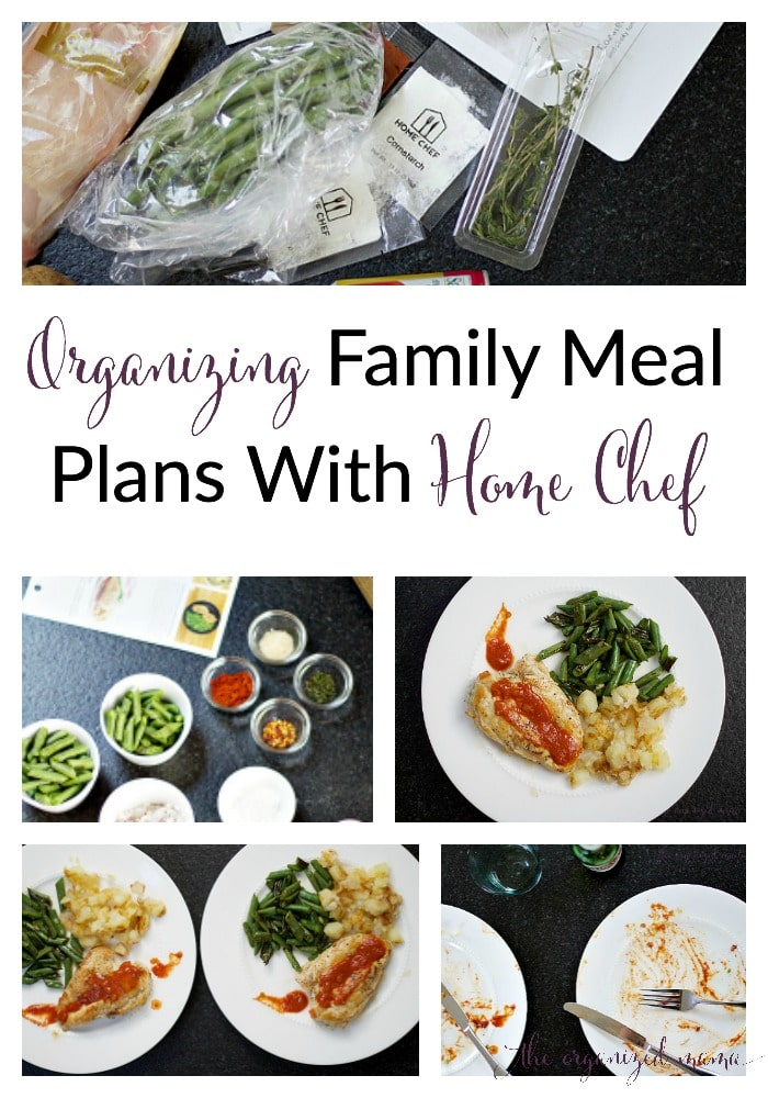 Organizing Family Meal Plans with Home Chef