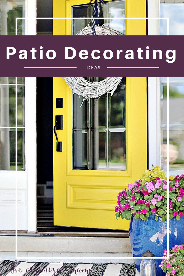 Patio Decorating Ideas