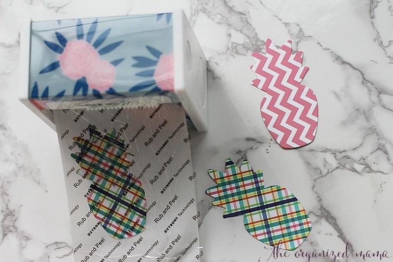 paper bunting tutorial xyron sticker maker