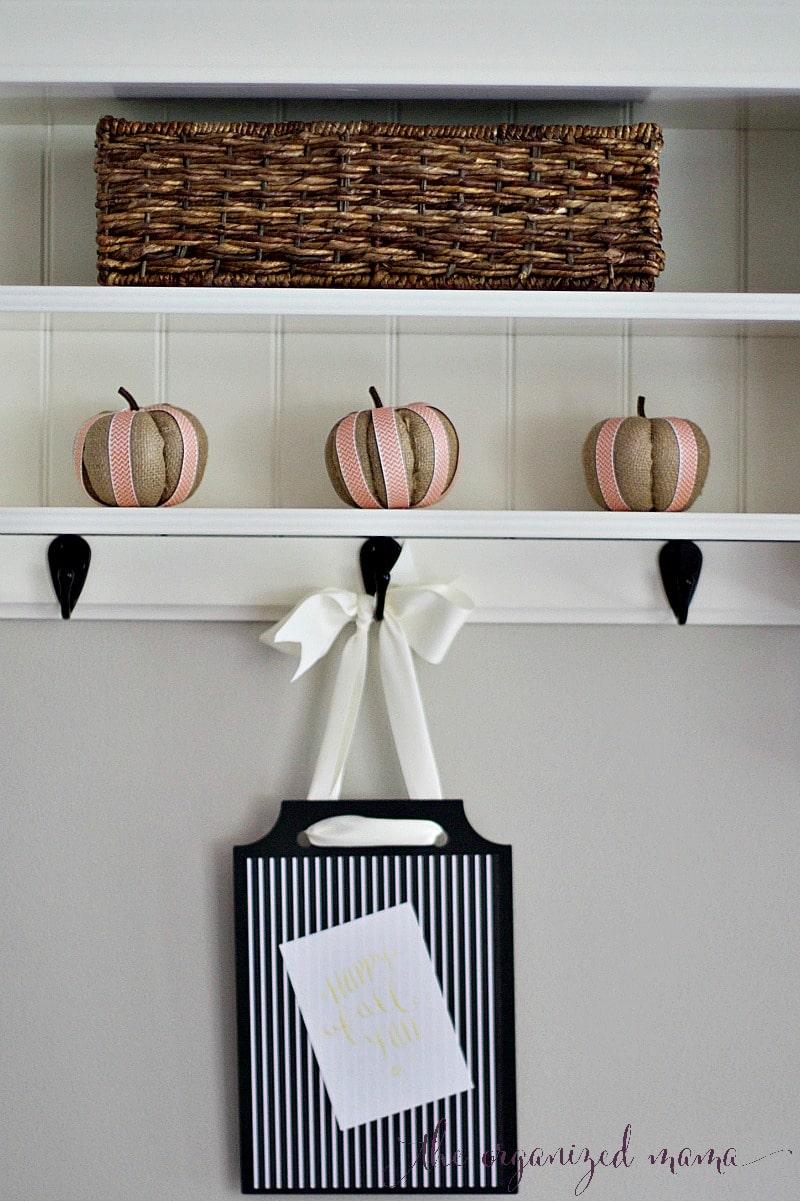 fall pumpkin diy decor