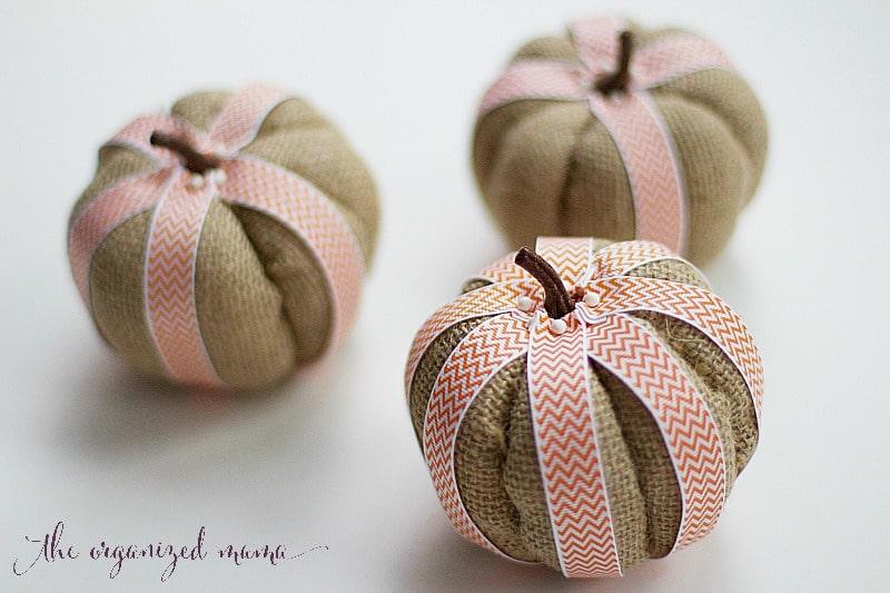 Easy Fall Pumpkin DIY From Dollar Tree