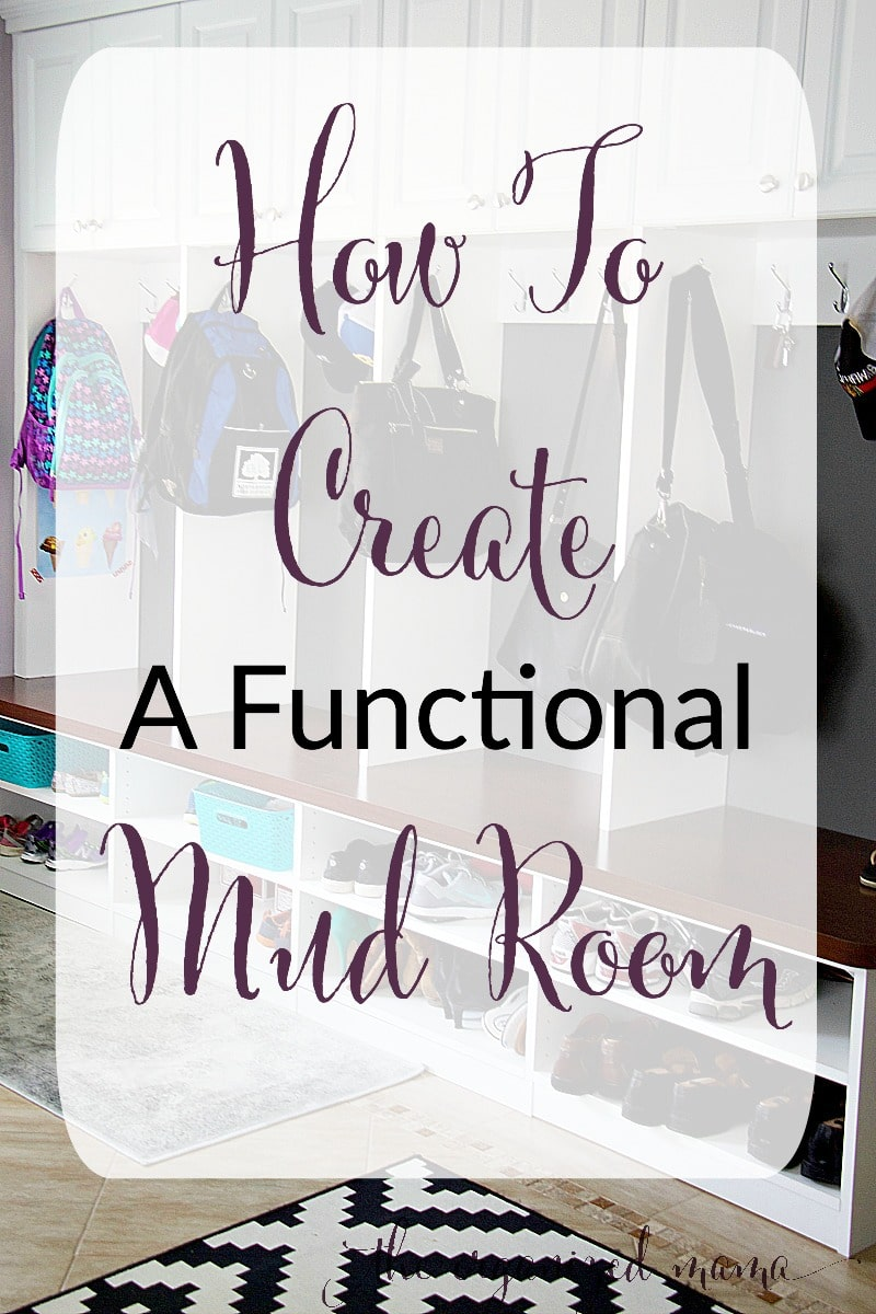how to create a functional mud room