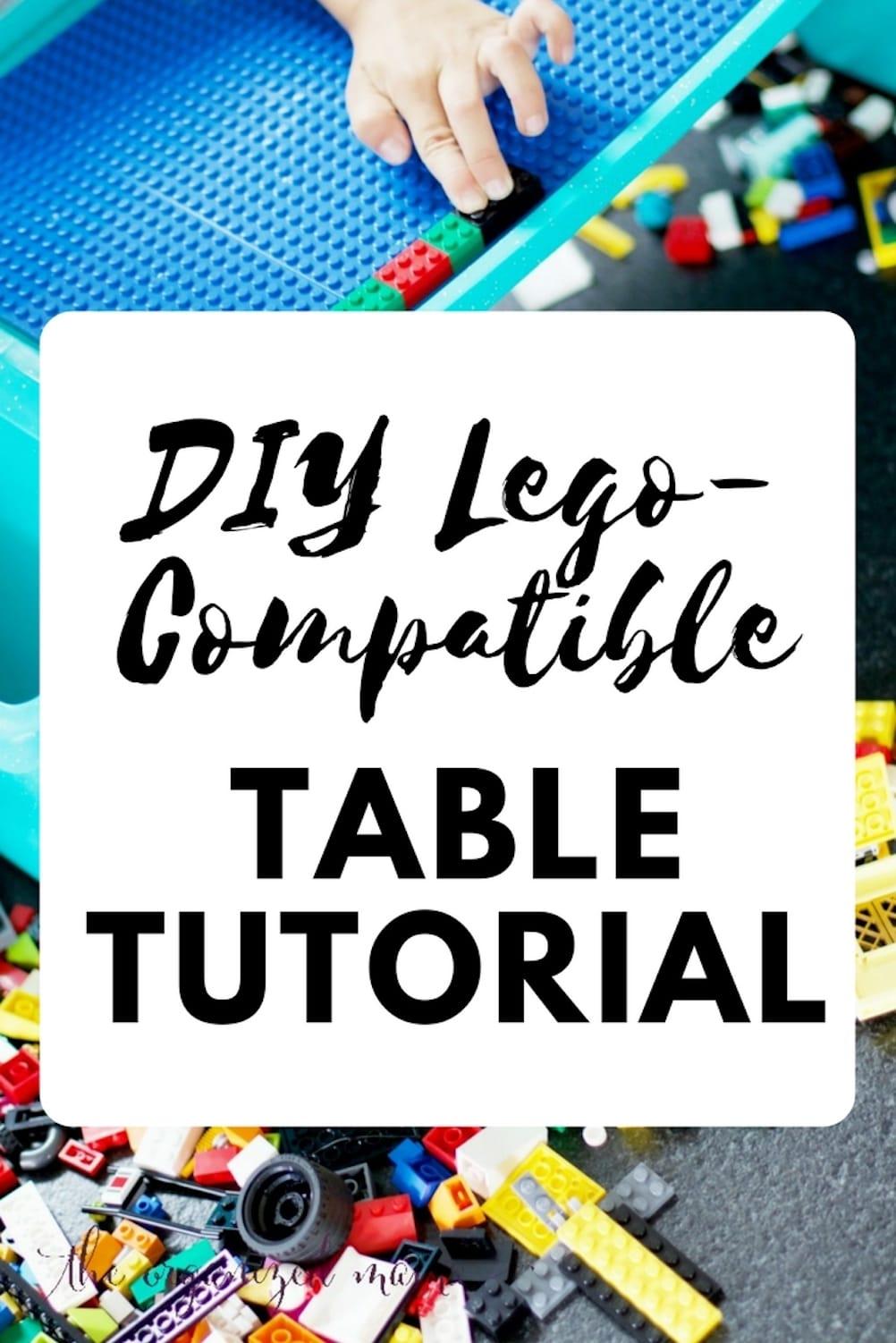 DIY Lego-Compatible Table Tutorial