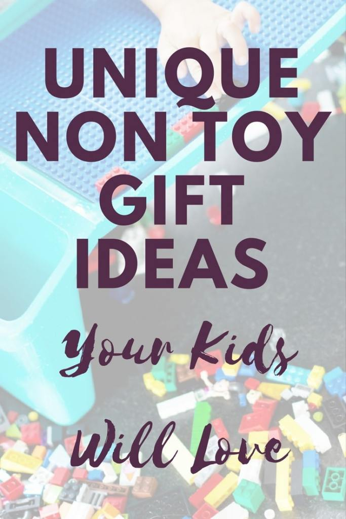 List of non-toy gift ideas that are perfect for kids of any age. Minimal gifting with big experiences is what it is all about! #giftguide #minimal