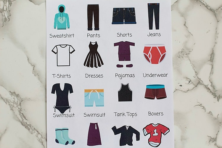 picture labels kids clothing