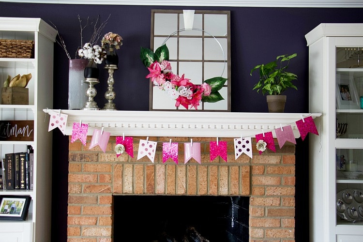 How To Make A Faux Flower Hoop Wreath