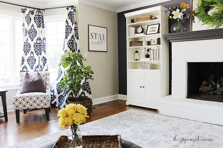 Modern Farmhouse Living Room Reveal One Room Challenge The