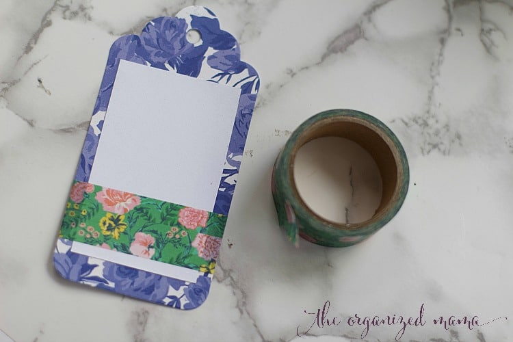 Add floral decor to any item in your home with this easy floral tag labels tutorial. By using a sticker maker and floral paper, you can create function and beauty together!