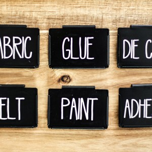 Create order in your home with these vinyl stickers. The labels are customizable to fit your bin or label tag. 1-2 words per label.