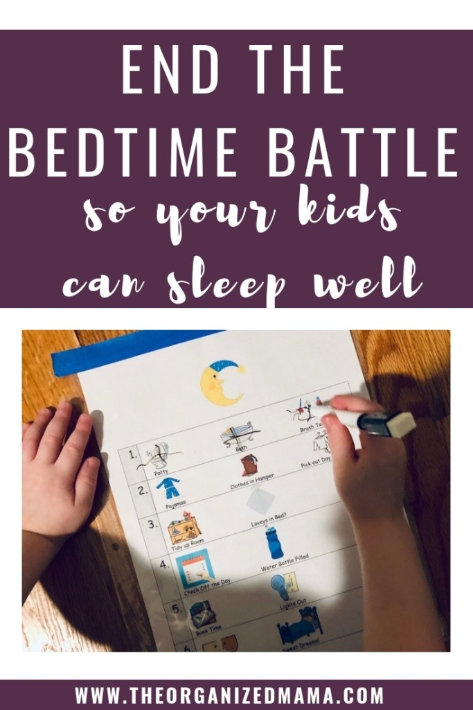 Teacher and mother of 2, Rachel, shares her strategies for creating a bedtime routine that helps kids take control and sleep well throughout the night. #bedtimechecklist #nighttimeroutine