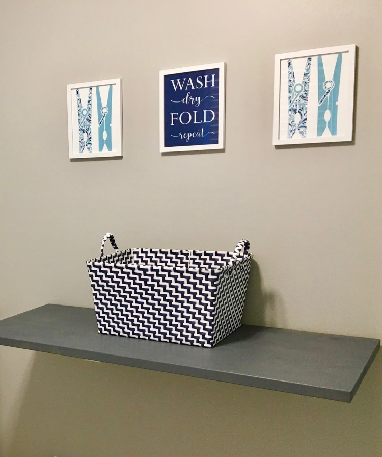 Want a fantastic folding table for your laundry room that doesn't take up any extra space? Make folding your clothes a little easier with The QuickBench!