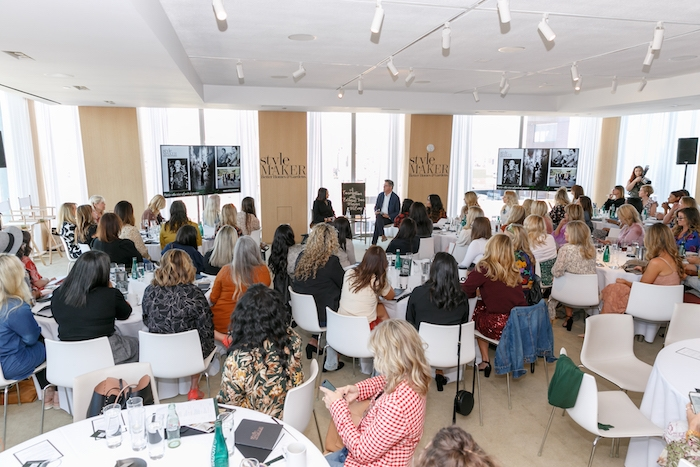 speaker at bhg stylemaker event 2019 at public hotel
