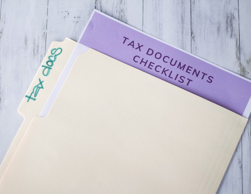 How To  File Your Taxes Like A Pro + Tax Documents Checklist