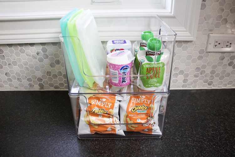 How To Organize Kids' Snacks For Summer