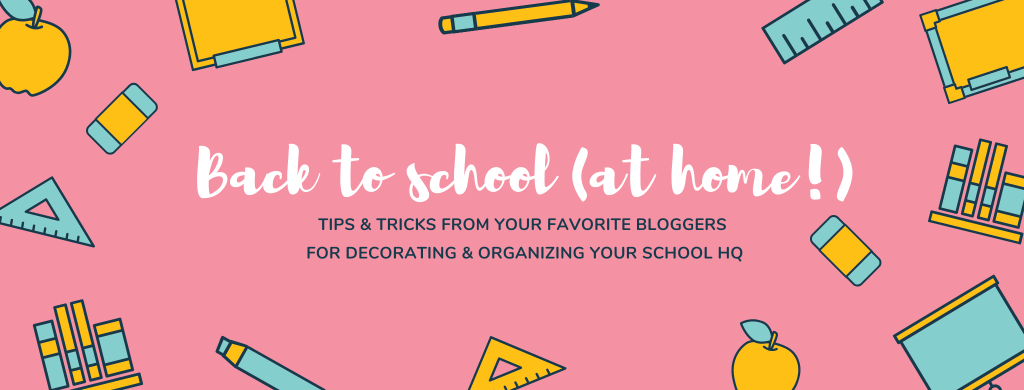 back to school blog hop header