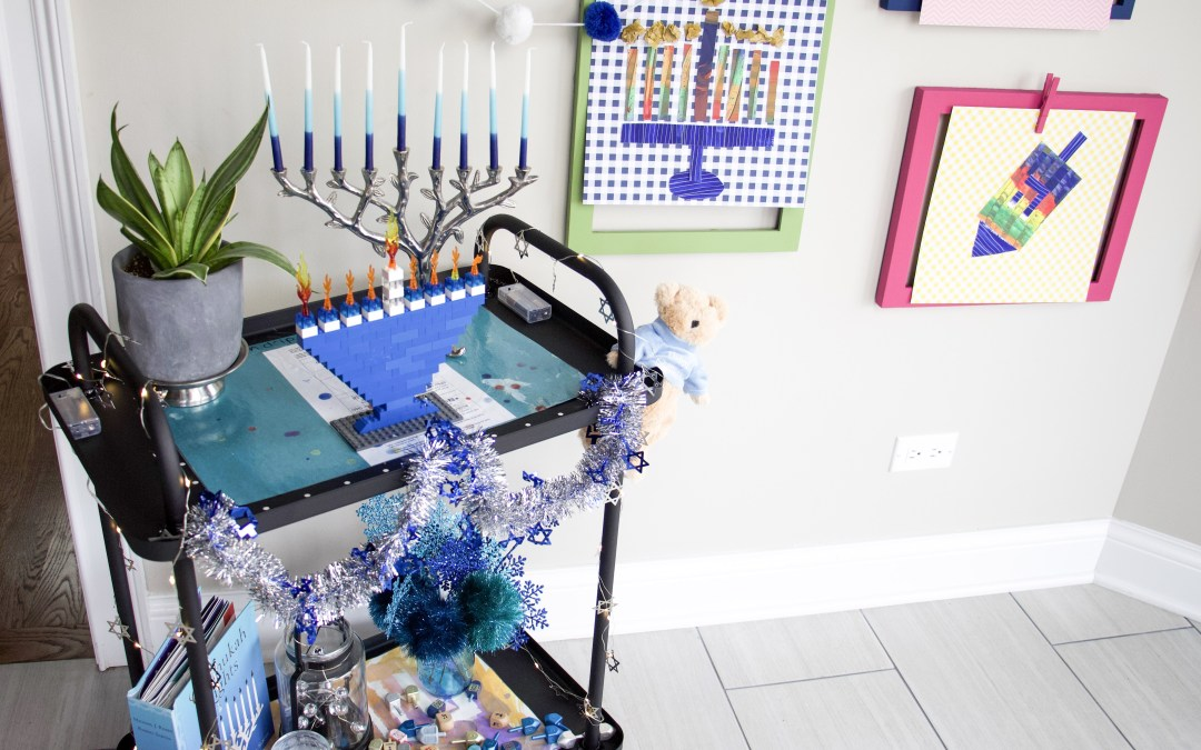 How To Set Up Hanukkah Decorations For The Kids