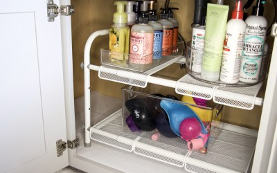 5 Secrets To Bathroom Under Sink Storage