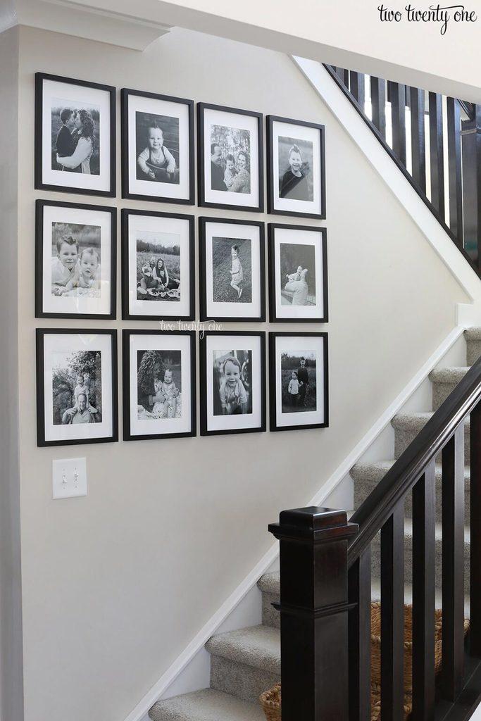 Two Twenty One Gallery Wall