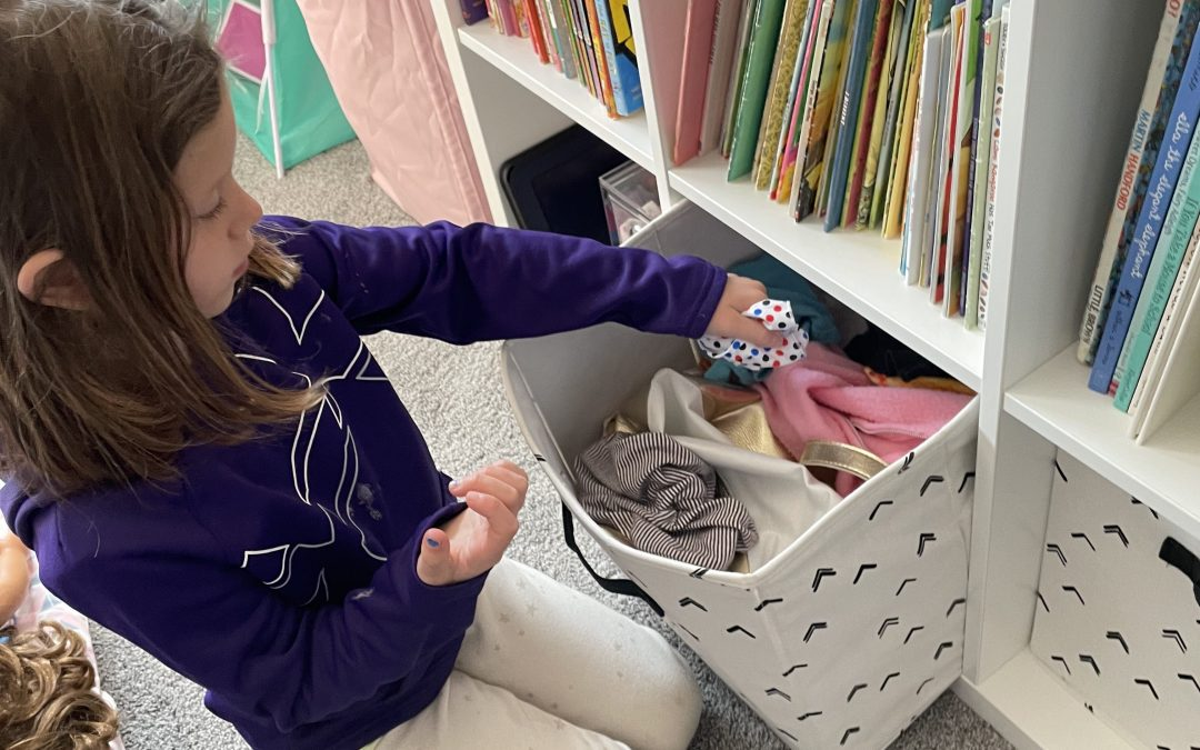 How To Organize Doll Clothes