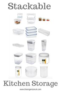 stackable kitchen storage
