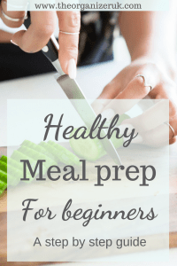 Easy meal prep step by step guide