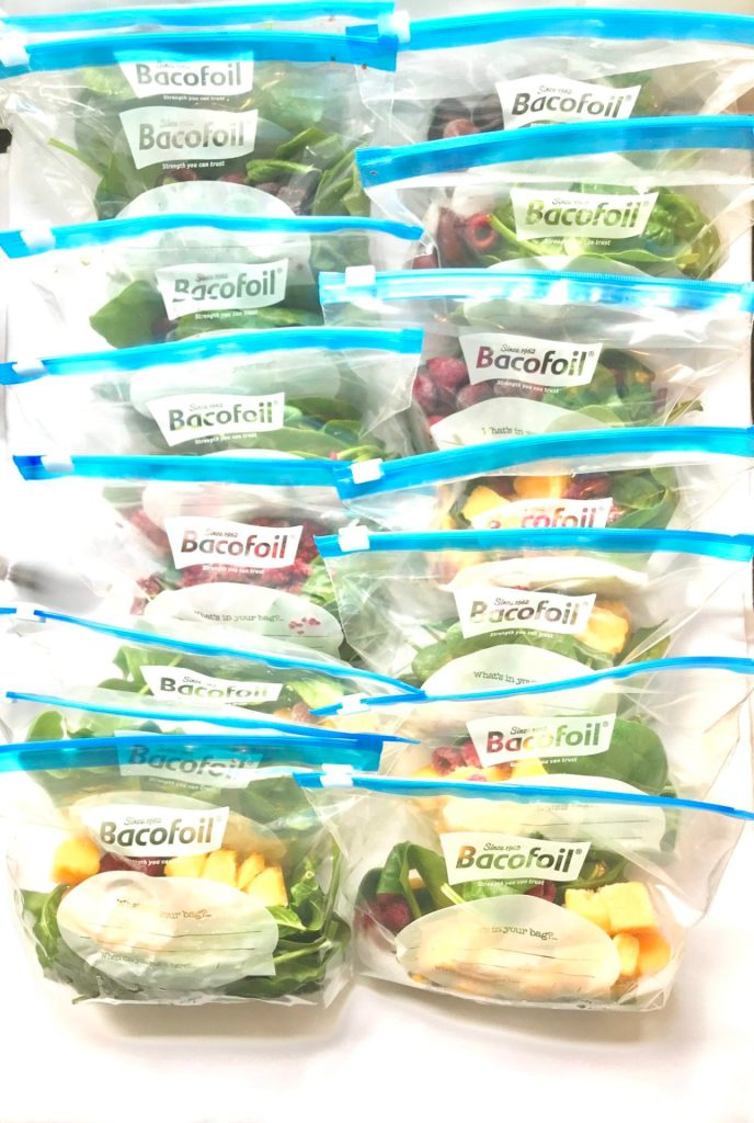 healthy breakfast ideas , meal prep vegetables and fruit