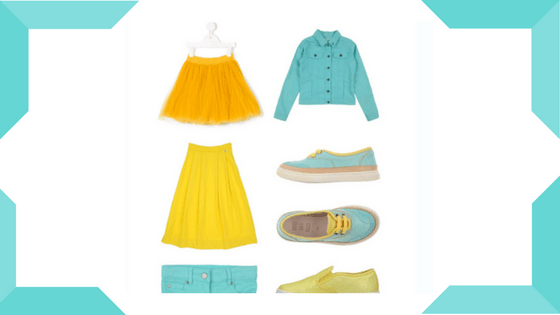 how to create a kid's capsule wardrobe