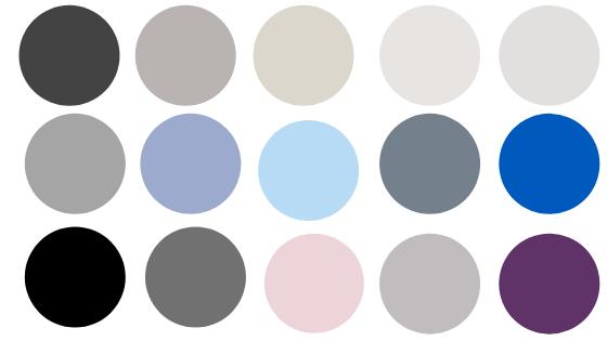 minimalist wardrobe essentials , colour palette