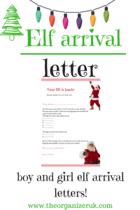 5 Of The Best Ever Elf Arrival Letters The Organizer Uk