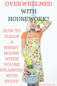 Overwhelmed with housework