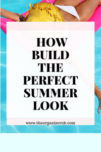 summer wardrobe pinnable image