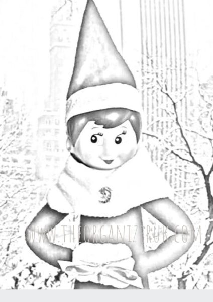 Elf pictures to color – Free Coloring Pages | 600x424
