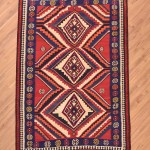 Persian Qashqai Kilim Rug 2 43x1 64m