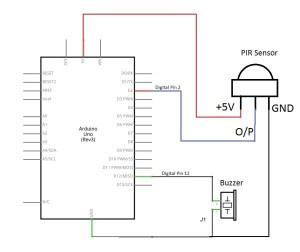 PIR Sensor with Arduino