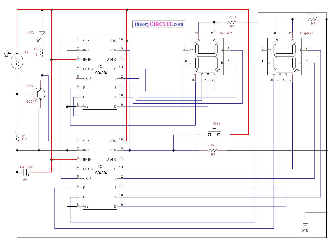 decade counter circuit diagram using 7490 hyundai accent wiring seven segment visitors theorycircuit do it