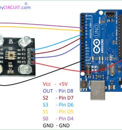 color sensor tcs3200 arduino hookup [ 1100 x 808 Pixel ]