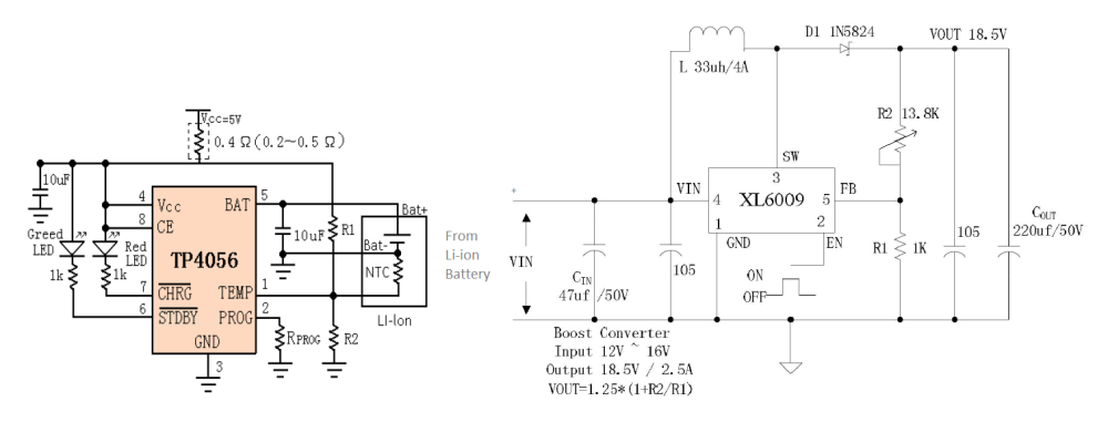 medium resolution of power bank circuit diagram