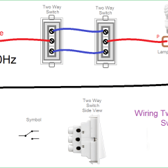 2 Way Switch Connection Diagram Austin Mini Wiring Two Light Great Installation Of New Zealand