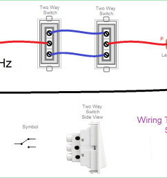 two way light switch connection wiring diagram two switches controlling one light two switches one light diagram [ 1235 x 711 Pixel ]