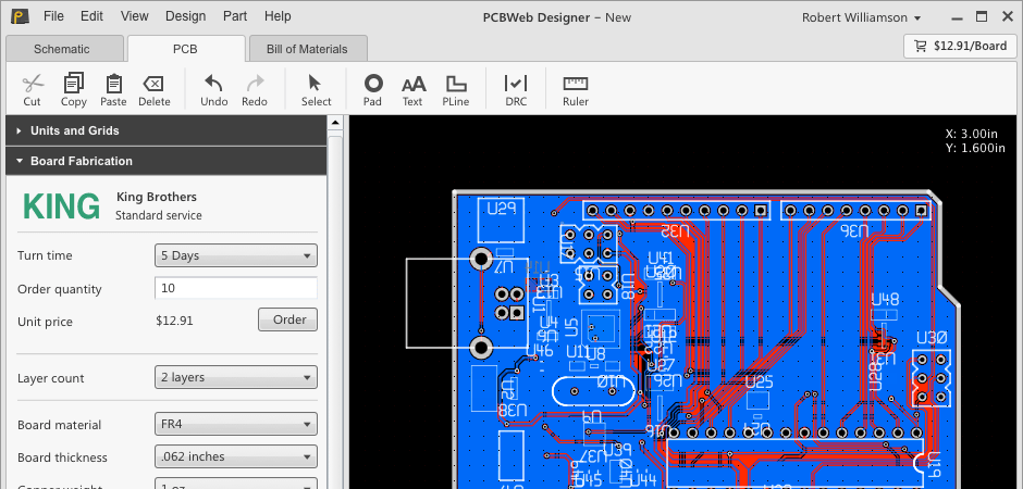 Electronic Circuits Software Electronic Circuit Calculator Pic Pcb