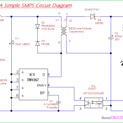Mobile Block Diagram Circuit Simple Car Stereo Wiring Smps