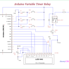 Time Delay Relay Circuit Diagram Blaupunkt Wiring Arduino Variable Timer