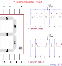 this is single seven segment module some display available with two or more seven segments and refer datasheet for proper pin configurations  [ 1204 x 980 Pixel ]