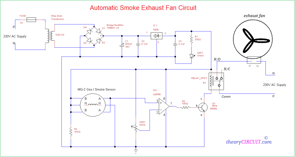 medium resolution of automatic smoke exhaust fan circuitexhaust fan diagram 9