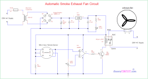 Automatic Smoke Exhaust Fan Circuit