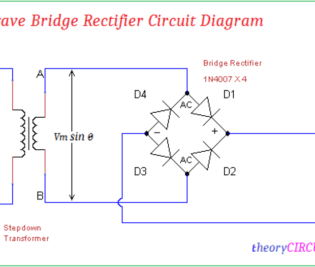 Full Wave Bridge Rectifier Circuit Diagram Bridge Rectifier Schematic Rectifier Circuit Diagram