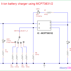 Lithium Ion Cell Diagram Of Our Solar System Li Battery Charger Circuit