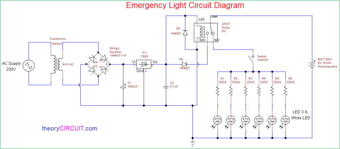 Wiring Diagram For Non Maintained Emergency LightingWiring Diagram